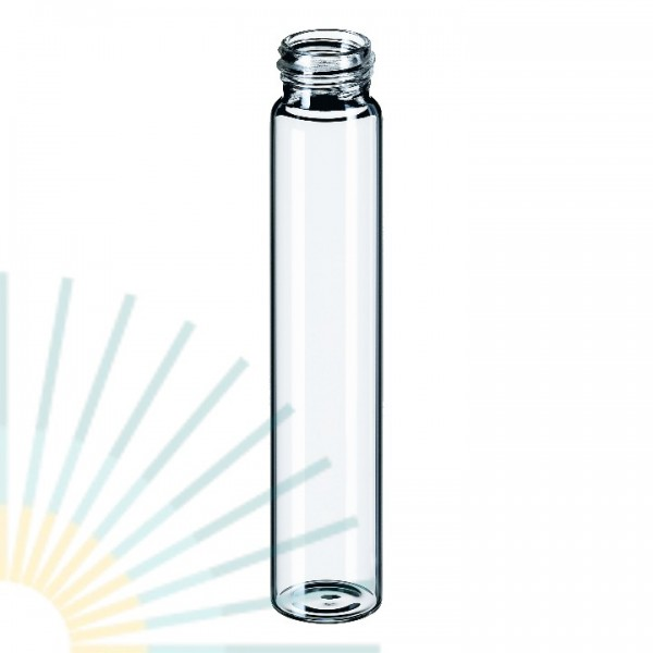 60ml EPA GW-Flasche 140 x 27,5mm, Klarglas
