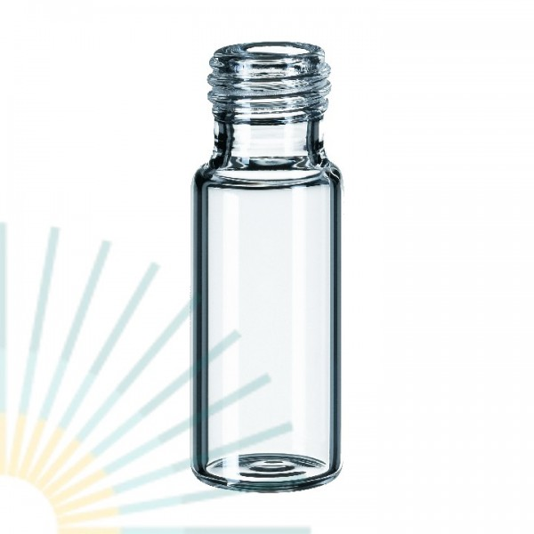 1.5ml Short Thread Vial, clear, wide opening