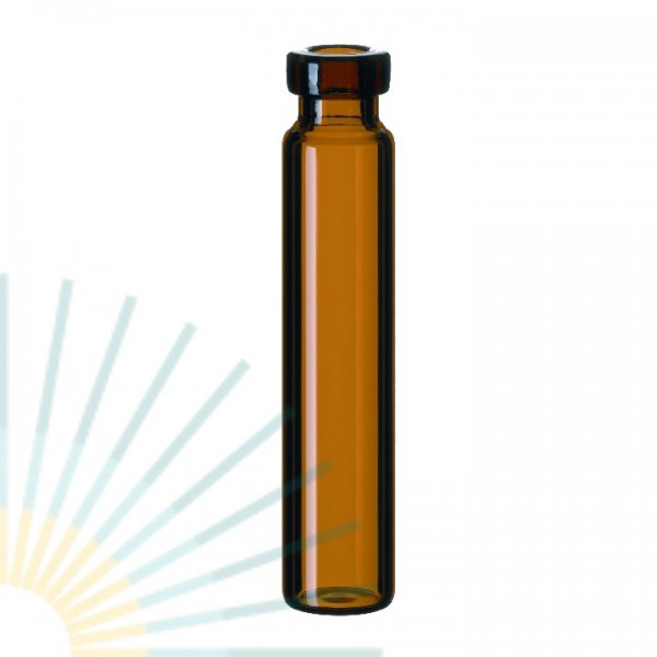 1.2ml Crimp Neck Vial, 40 x 8.2mm, amber