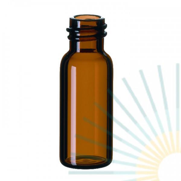 1,5ml GW-Flasche, ND8, 32 x 11,6mm, Braunglas, enge Öffnung