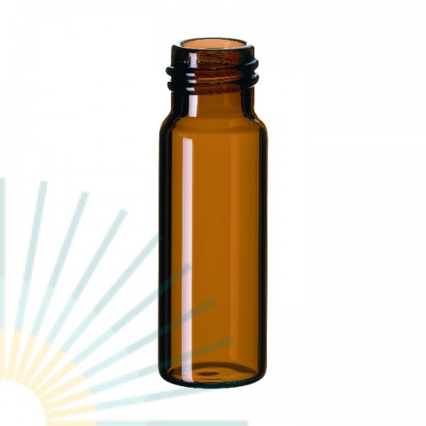4ml GW-Flasche, 45 x 14,7mm, Braunglas