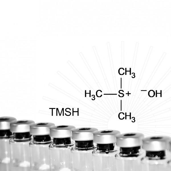 Trimethylsulfoniumhydroxid (TMSH), 0,2M in Methanol, 10 x 1 mL