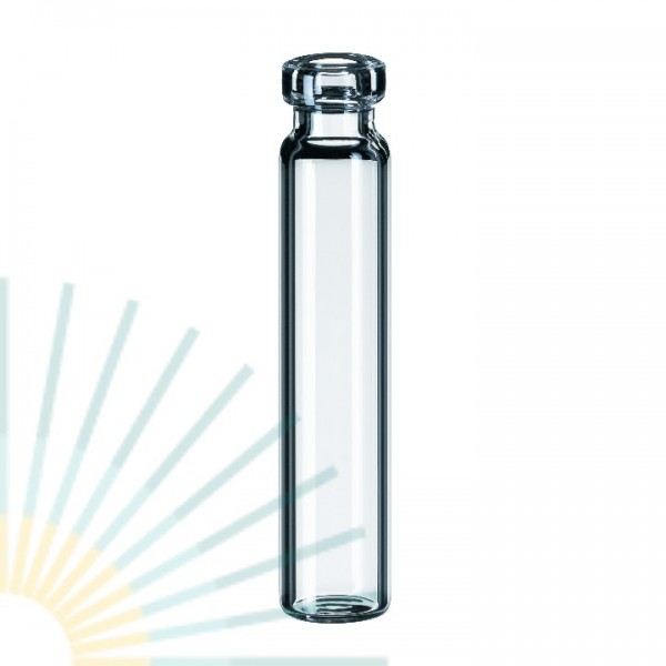 1.2ml Crimp Neck Vial, 40 x 8.2mm, clear