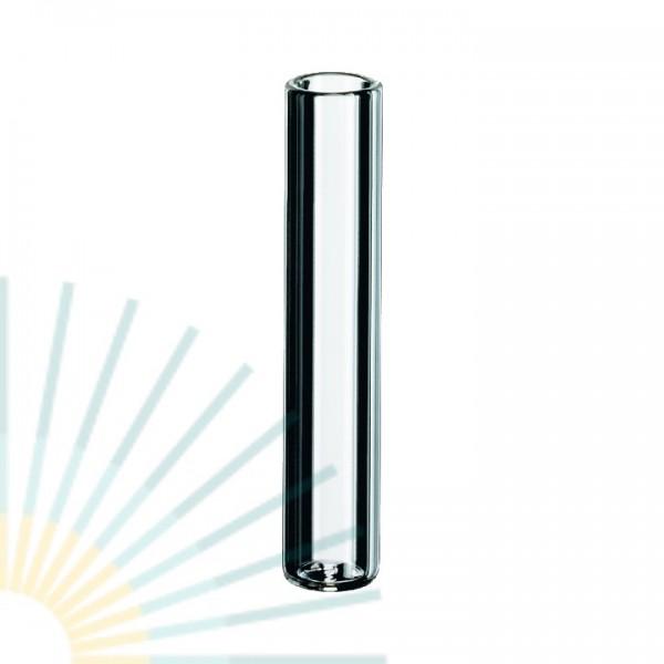 0,2ml Mikroeinsatz, 31 x 6mm, Klarglas, mit flachem Boden