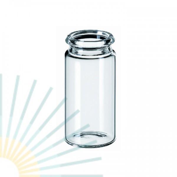 5ml Schnappdeckel-Flasche ND18, 40 x 20mm, Klarglas