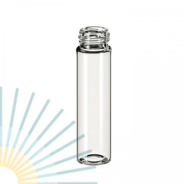 8ml GW-Flasche Gewinde 15-425, 61x16,6mm, Klarglas