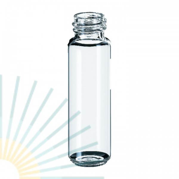 20ml HS-Vial, clear, rounded bottom, f. PP Screw Cap ND18