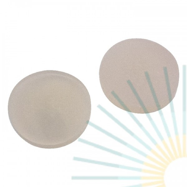 22mm Septa, Silicone nature/PTFE beige, 3.2mm, EPA-quality