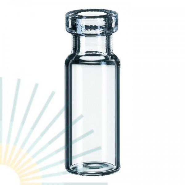 1,5ml Rollrandflasche, 32 x 11,6mm, Klarglas, weite Öffnung