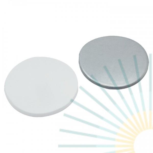 20mm Septa, Silicone white/Alu. foil silver, 3.0mm