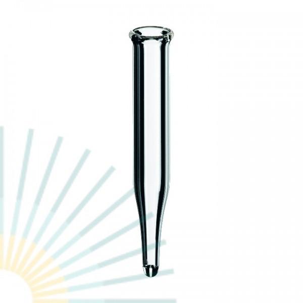 0.3ml Micro-Insert, 40 x 6mm, clear, 15mm top