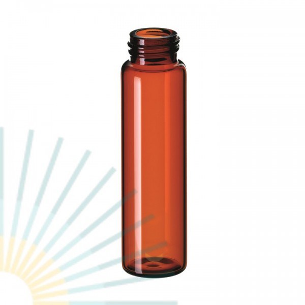 12ml SN-Vial, screw 15-425, amber